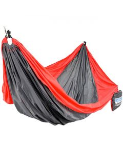 Equip Hammock Two Person Travel Hammock - Red/Gray